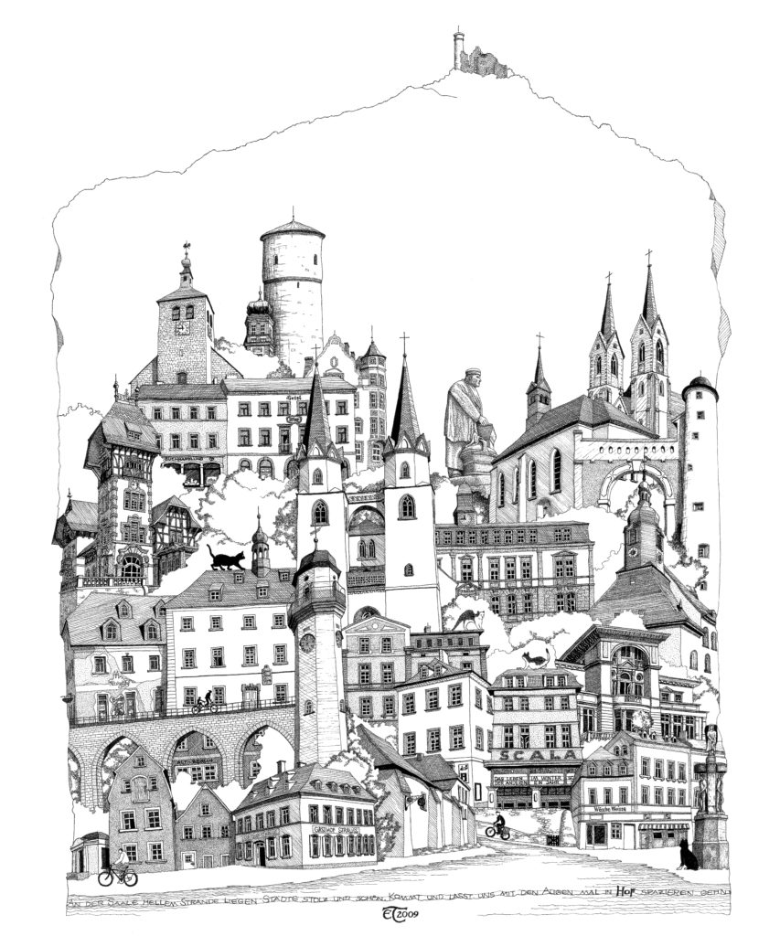 Hof stadtansichten, Hofer stadtbild