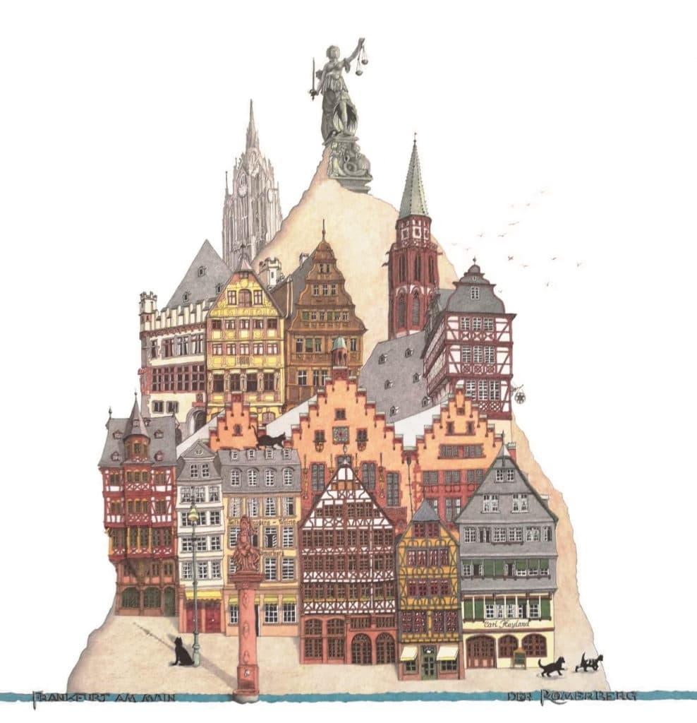 Frankfurter Allerlei, frankfurt stadtansichten