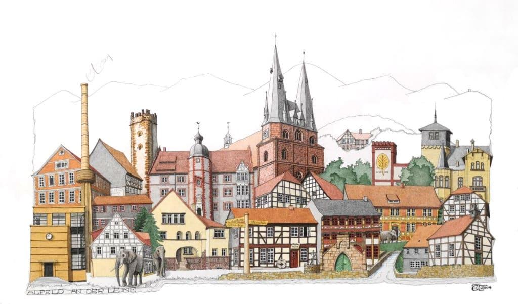 Alfeld an der Leine, Alfeld stadtansichten